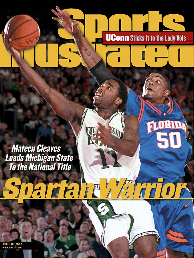 Michigan State University Mateen Cleaves, 2000 Ncaa Sports Illustrated Cover Photograph by Sports Illustrated
