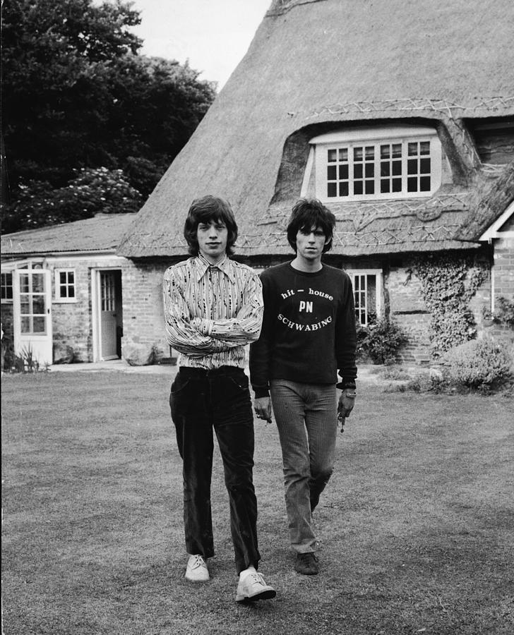 Mick & Keith In The Country Photograph by Express Newspapers