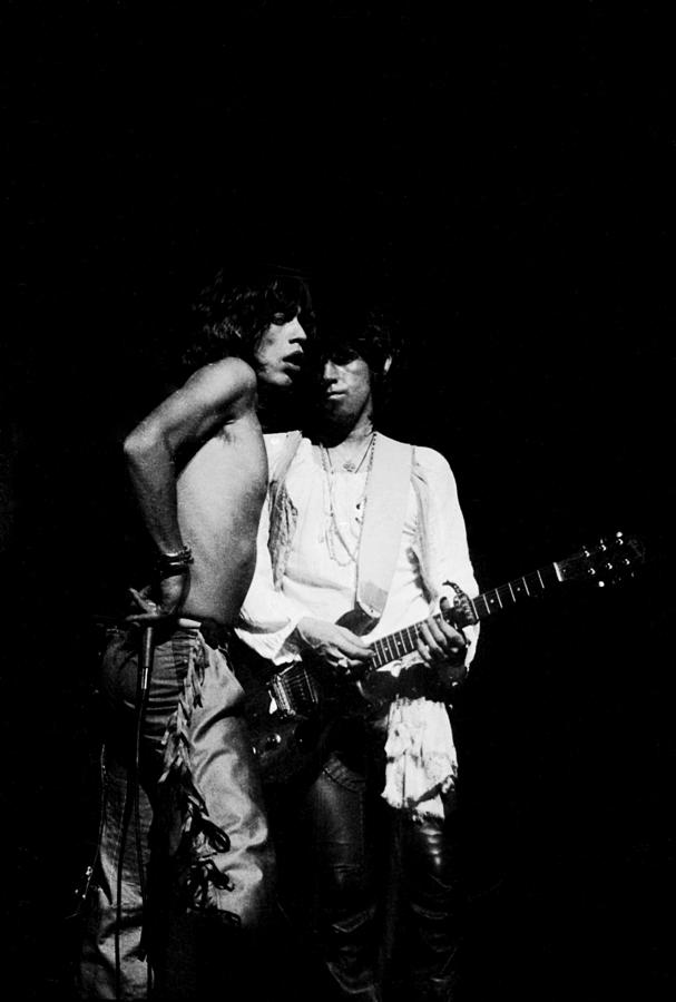 Mick And Keith Photograph by Steve Wood