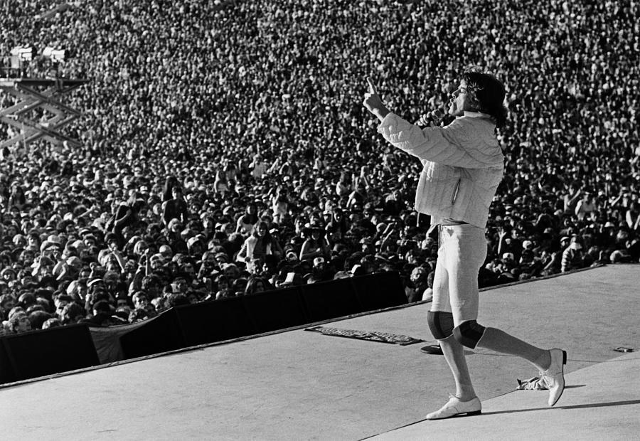 Mick Jagger & The Rolling Stones Photograph by George Rose
