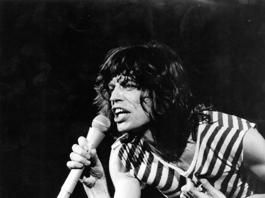 Mick Jagger Photograph by Evening Standard