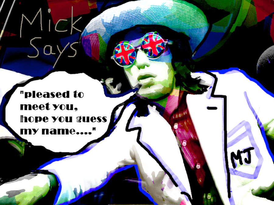 Mick Says 2 by 3nki  by Enki Art