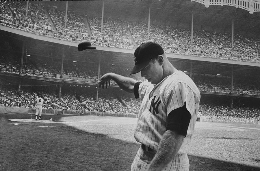 Mickey Mantle Photograph by John Dominis