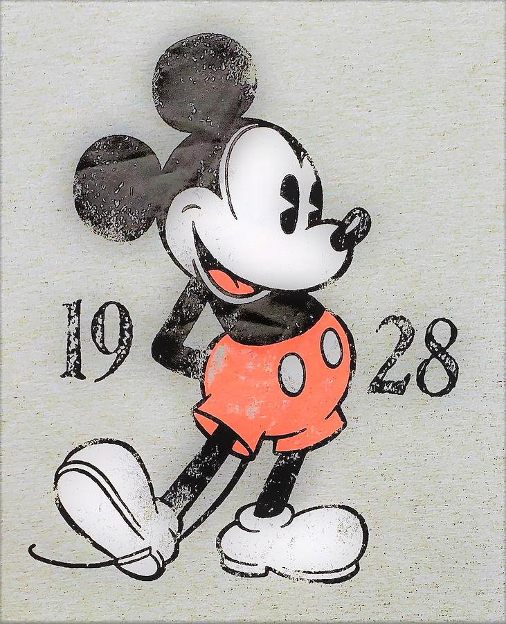 MICKEY MOUSE 1928  by Rob Hans