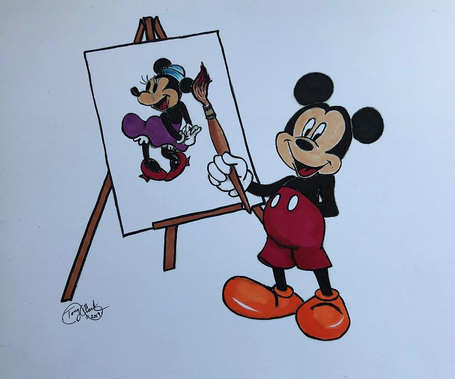 Mickeys Muse by Tony Clark