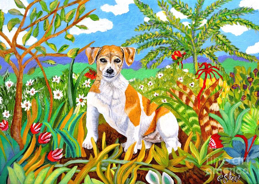 Mico the Jack Russell by Caroline Street