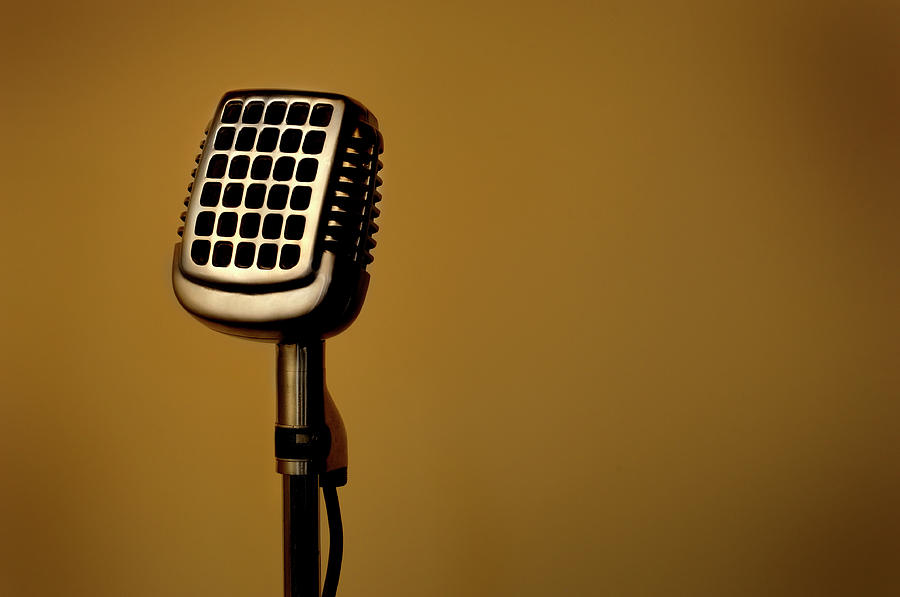 Microphone 014 Photograph by Francisblack