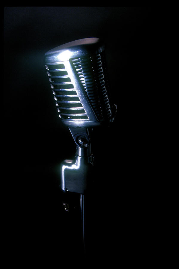 Microphone Photograph by Braddy