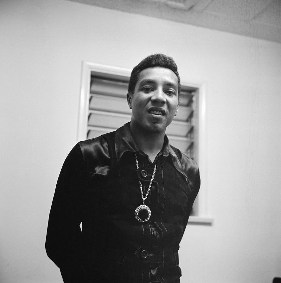 Mid 1960s, Los Angeles, Smokey Robinson Photograph by Michael Ochs Archives