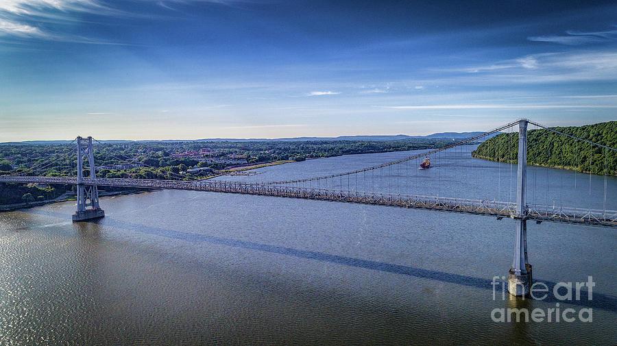 Mid-Hudson Bridge by Joe Santacroce