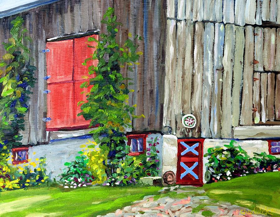 Mid-Summer Barn by Phil Chadwick