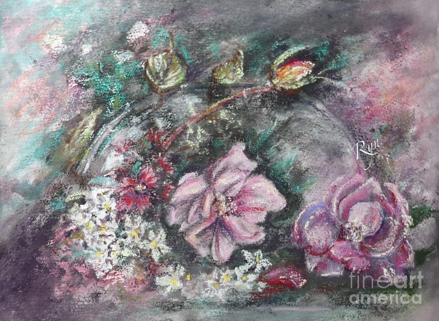 Mid-Winter Artist's Garden Flowers by Ryn Shell
