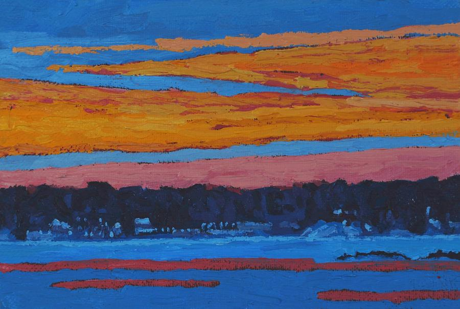Mid Winter Singleton Sunset by Phil Chadwick