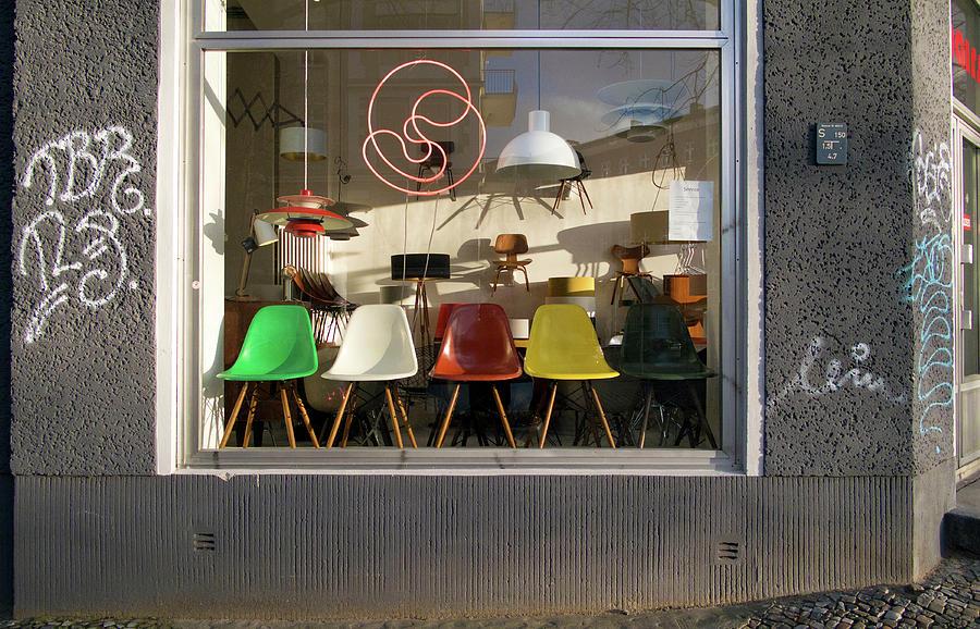 Midcentury Modern Storefront by Michael Gerbino