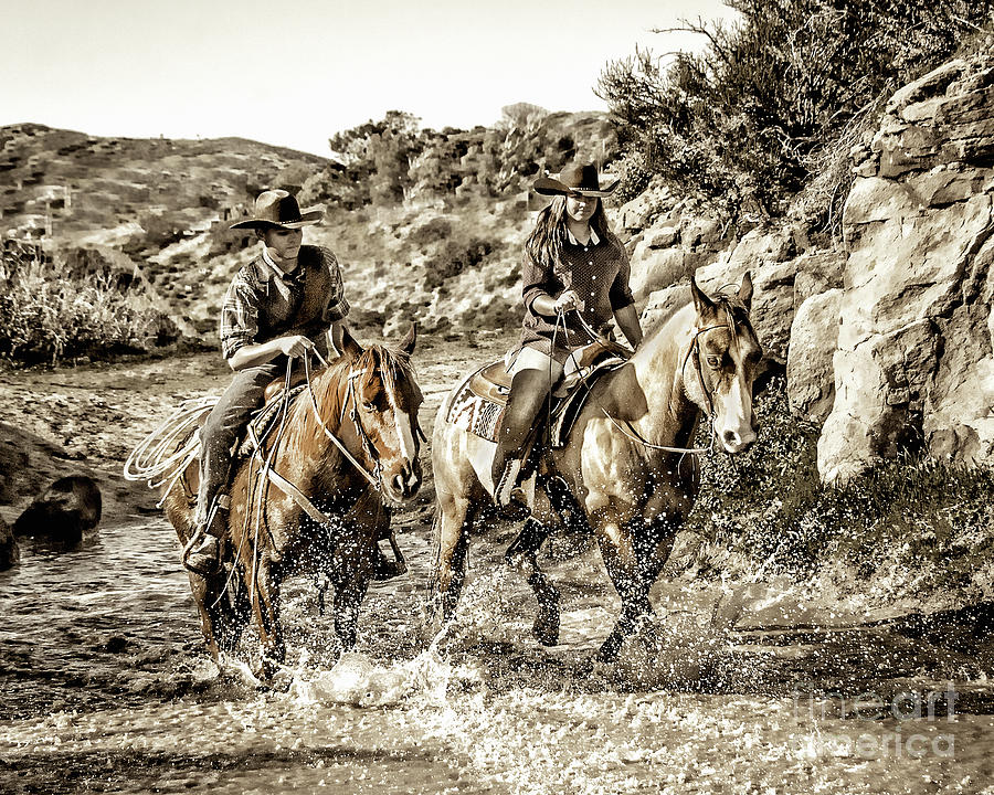 Midday Ride by Jerry Cowart