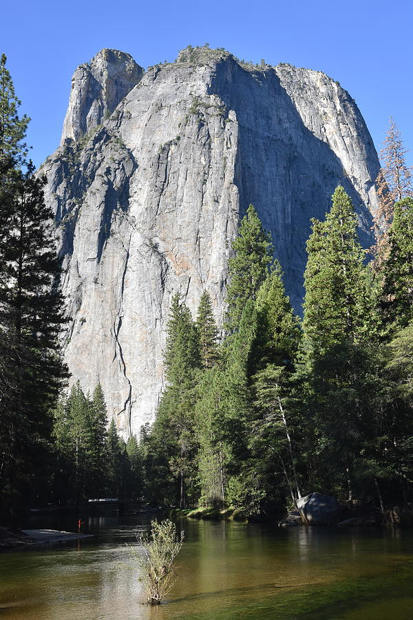 Middle Cathedral Rock and the Merced by Ben Foster