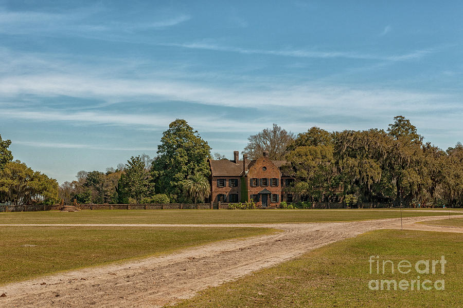 Middleton Place Plantation Home View - Charleston Sc Photograph