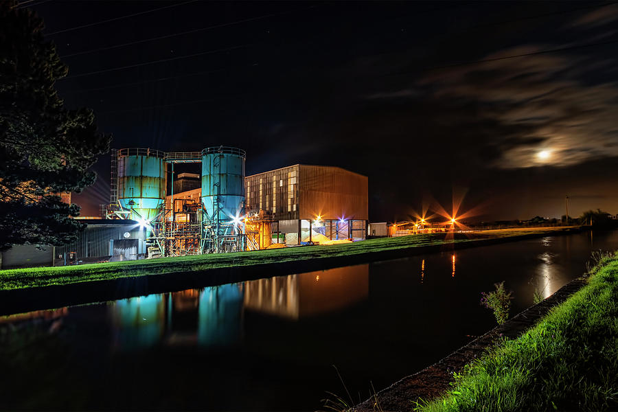 Salt Photograph - Middlewich Salt Factory by Steev Stamford