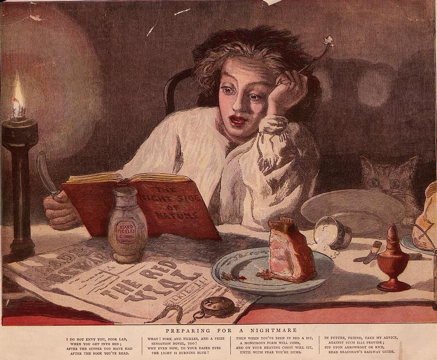 Midnight Snack Digital Art by Hulton Archive