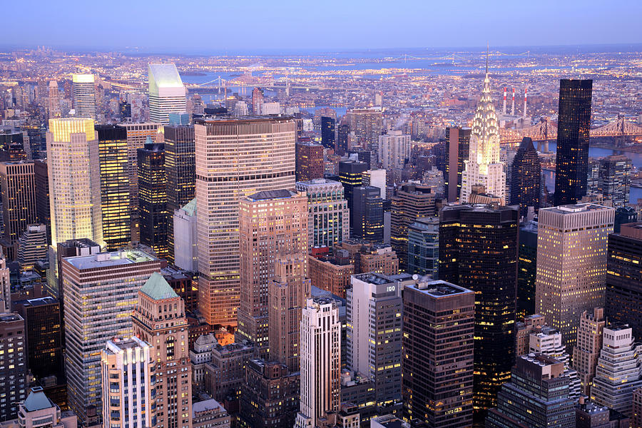 Midtown And Upper East Manhattan, New Photograph by Jumper