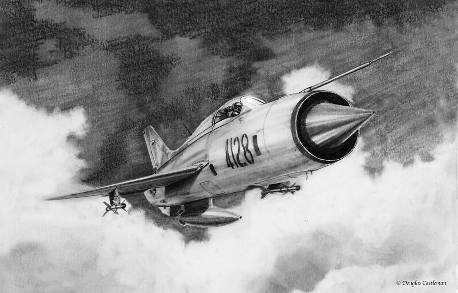 MiG-21-PF by Douglas Castleman