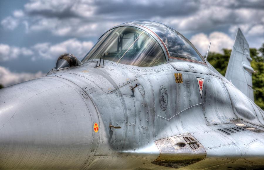 Mig-29 Jet Fighter by David Pyatt