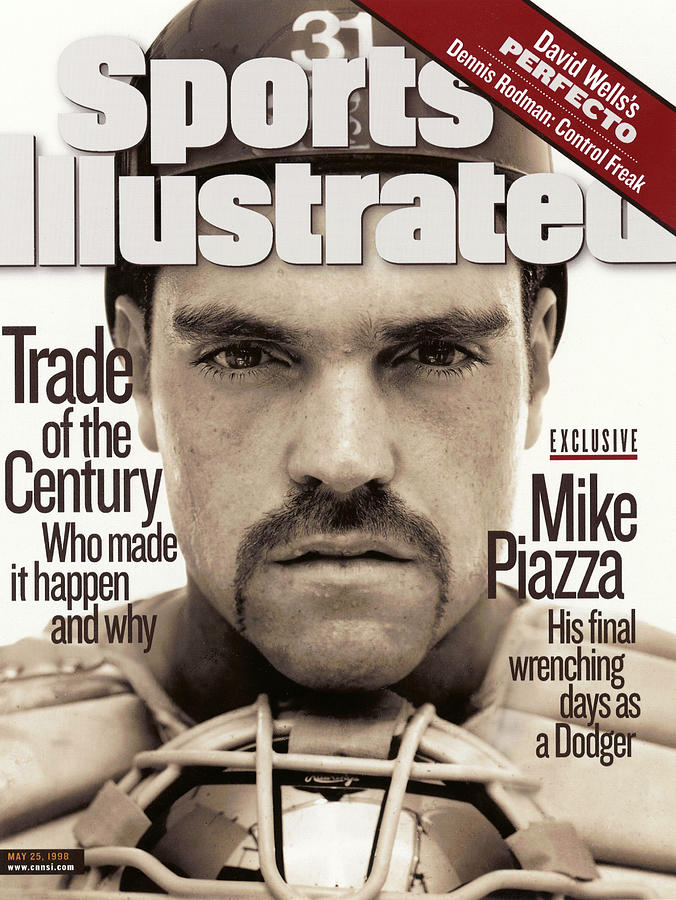 Mike Piazza Trade Of The Century, Who Made It Happen And Why Sports Illustrated Cover Photograph by Sports Illustrated
