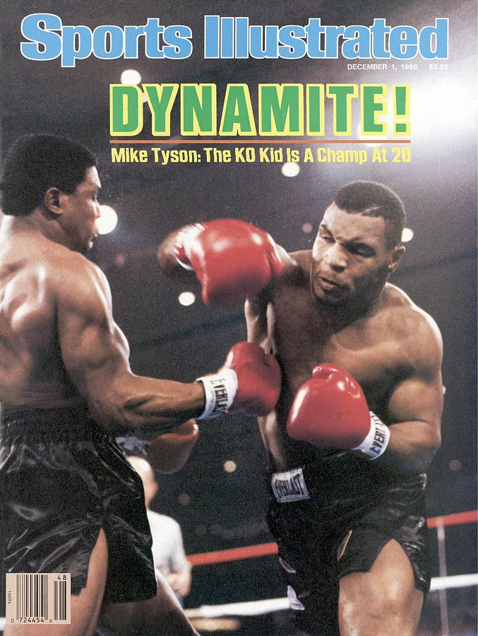Mike Tyson, 1986 Wbc Heavyweight Title Sports Illustrated Cover Photograph by Sports Illustrated