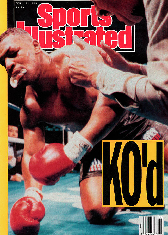 Mike Tyson, 1990 Wbcwbaibf Heavyweight Title Sports Illustrated Cover Photograph by Sports Illustrated