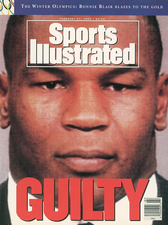 Mike Tyson, Heavyweight Boxing Sports Illustrated Cover Photograph by Sports Illustrated