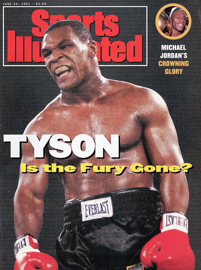 Mike Tyson Is The Fury Gone Sports Illustrated Cover Photograph by Sports Illustrated