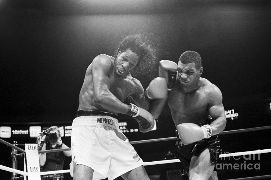 Mike Tyson Punches Mitch Green Photograph by Bettmann