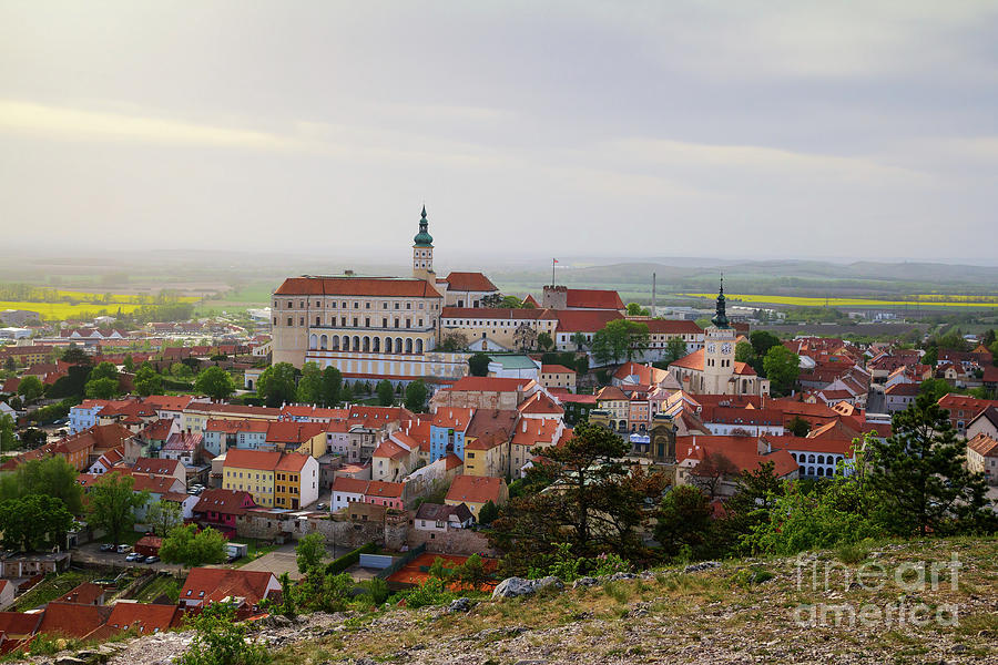 Mikulov in Moravia by Les Palenik