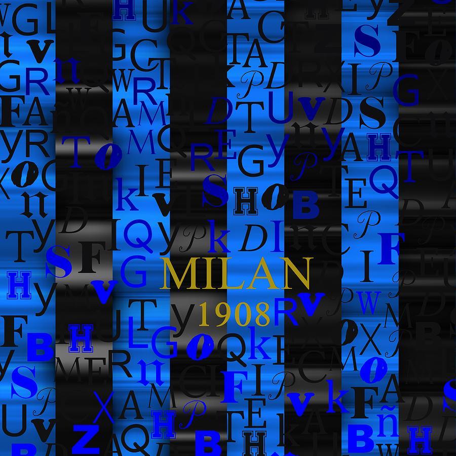 Milan 1908 Digital Art
