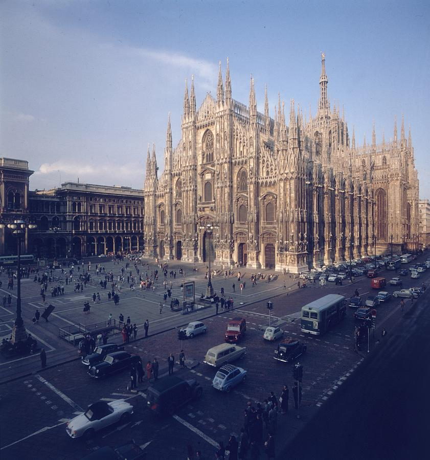 Milan Cathedral Photograph by Slim Aarons