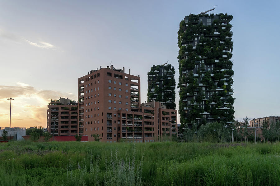 Milans Marvelous Architecture - Bosco Verticale Vertical Forest Biophilic Residential Towers by Georgia Mizuleva