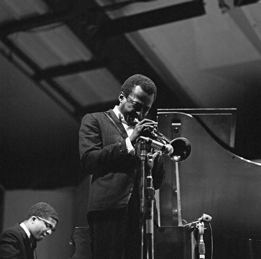 Miles Davis At Newport Photograph by David Redfern
