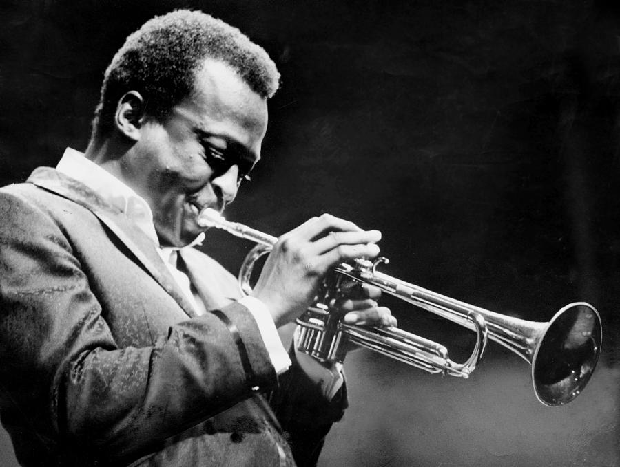 Miles Davis Performs At The Newport Photograph by New York Daily News Archive