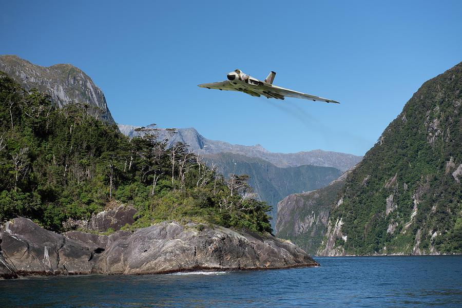 Milford Sound Vulcan by Gary Eason