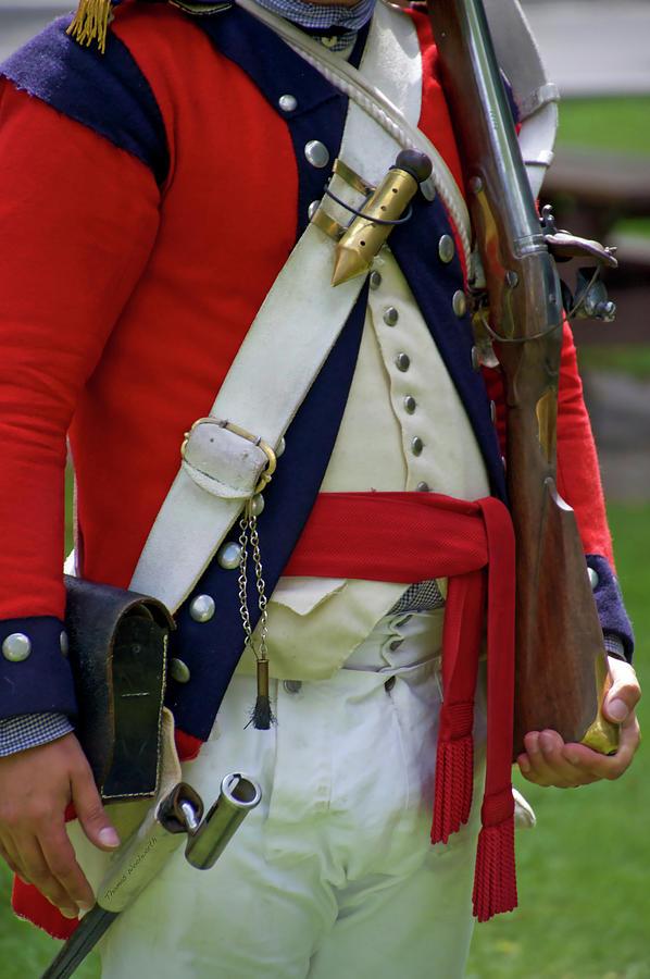 Military Uniform Revolutionary War Frontside 07