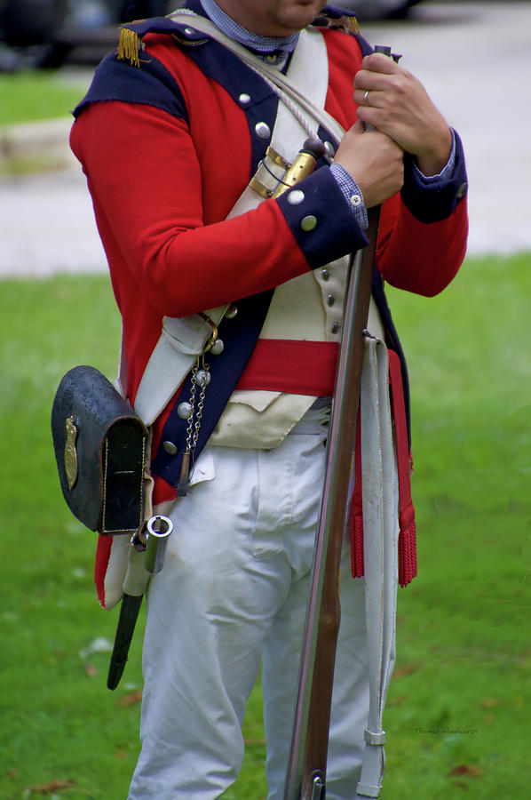 Military Uniform Revolutionary War Frontside 18 by Thomas Woolworth