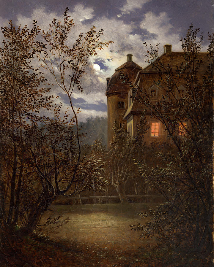Milkel in Moonlight                                           by Carl Gustav Carus