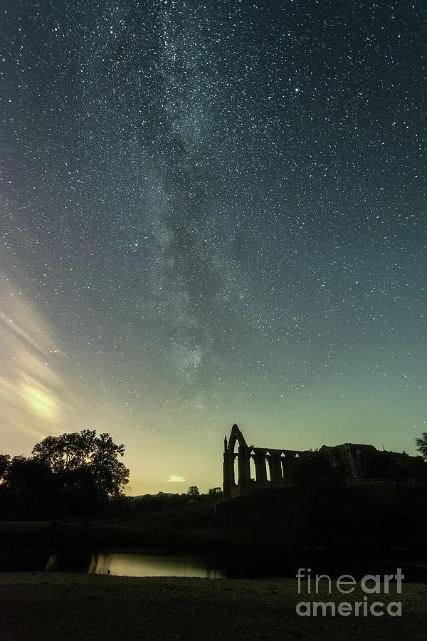 Milky Way Above Bolton Abbey Photograph