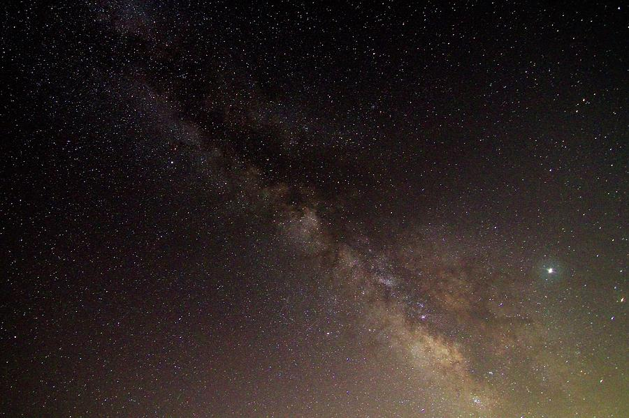 Milky Way and Jupiter by Paul Rebmann