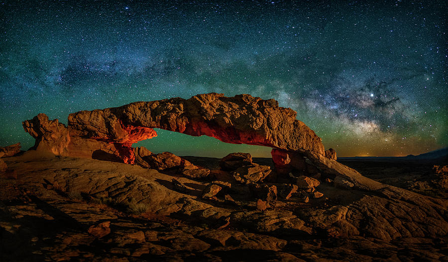 Milky Way Arch in Escalante by Michael Ash