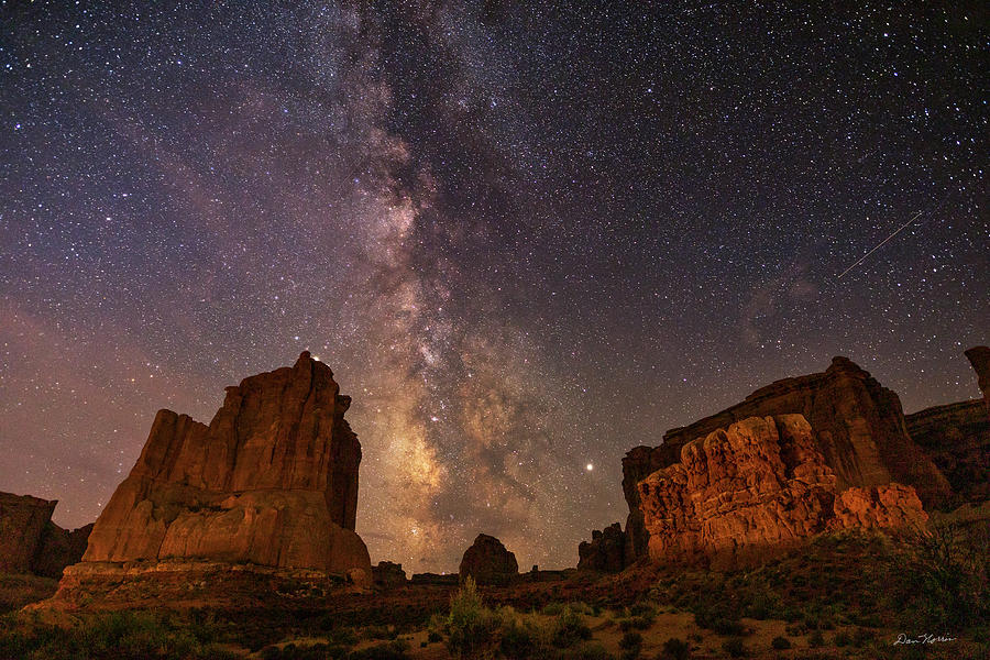Milky Way at Courthouse Towers by Dan Norris