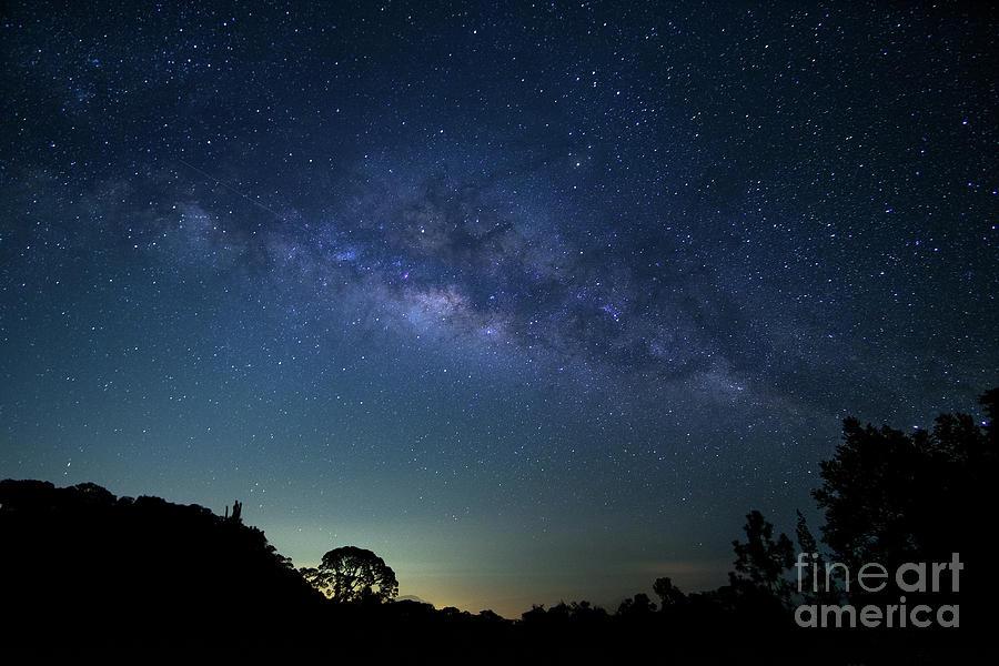 Milky Way At Doi Inthanon National Digital Art by Sirintra Pumsopa