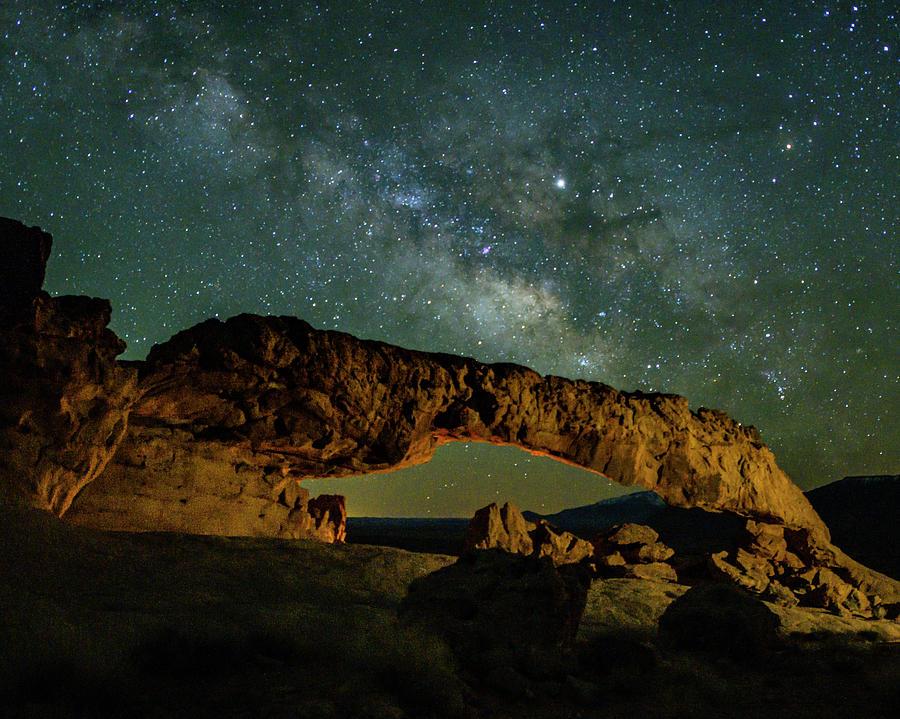 Milky Way in Escalante by Laura Hedien
