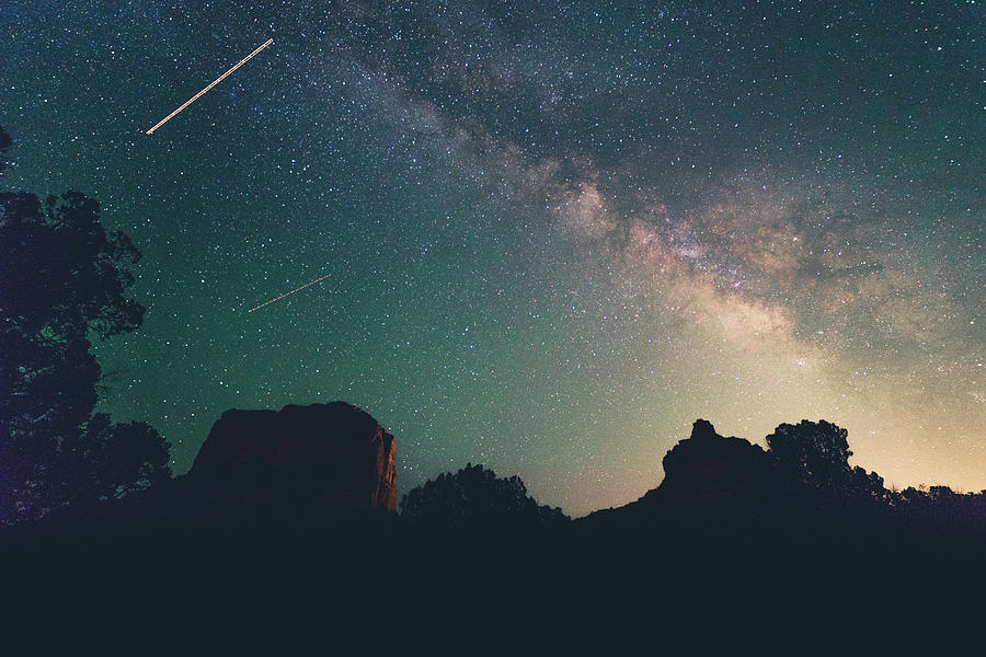 milky way in the Arizona sky by Mati Krimerman