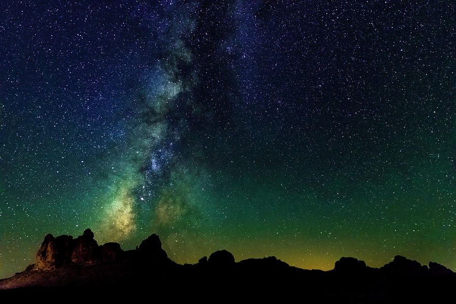Milky Way in the Mojave Desert by Bryant Coffey